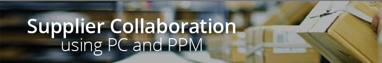 SUPPLIER COLLABORATION USING PC AND PPM